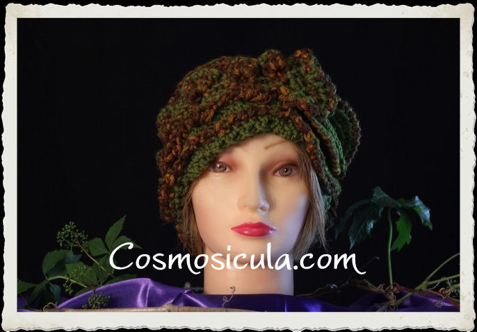 Cappello uncinetto Freestyle by Cosmosicula