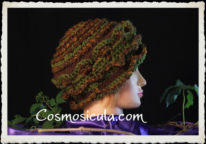Cappello all'uncinetto by Cosmosicula