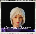 Woman crochet hat Cosmosicula