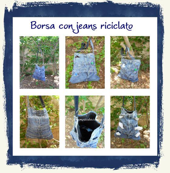 RecycleBagJeansBorsa